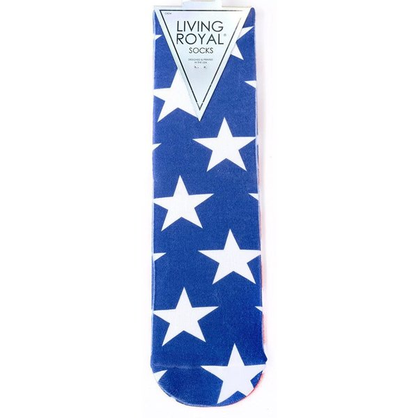 Americana Stars & Stripes Crew Socks