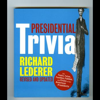 Sale Sale-Presidential Trivia, 3rd Edition by Richard Lederer PB