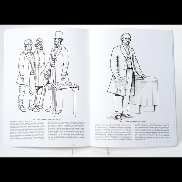 Sale Sale-American Presidents 2017 Coloring Book PB