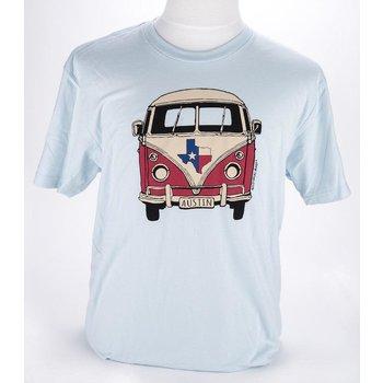 Austin & Texas Austin, Texas Van Tshirt