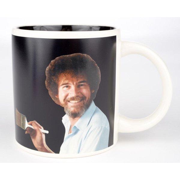 Americana Bob Ross Self-Painting Mug