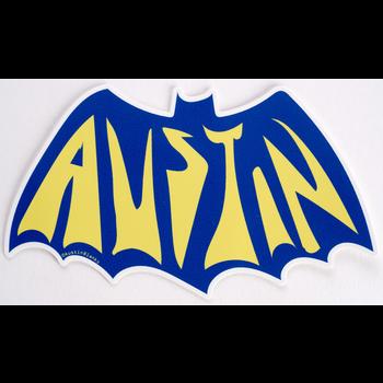 Austin & Texas Austin Bat Sticker