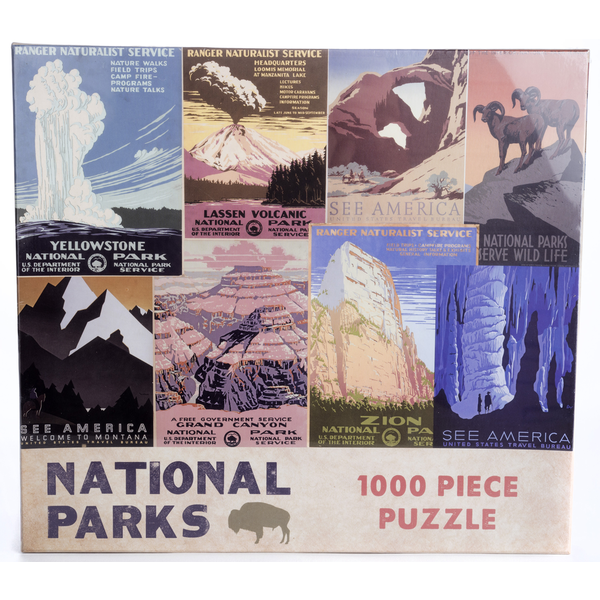 Americana National Parks 1000 PC Puzzle