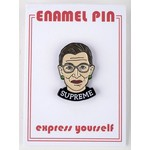 Americana Ruth Bader Ginsburg Enamel Pin