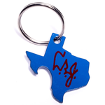 All the Way with LBJ LBJ Pop A Top Key Ring