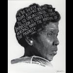 Americana Barbara Jordan 16x20 Poster