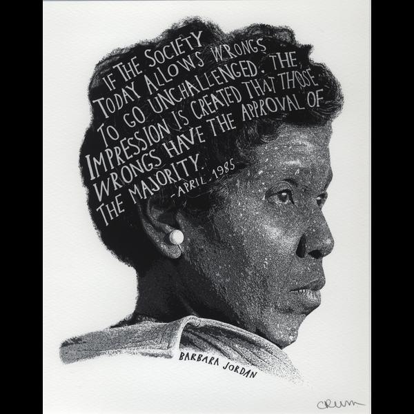 Civil Rights Barbara Jordan 16x20 Poster