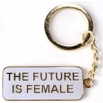 Civil Rights The Future Is Female Key Ring