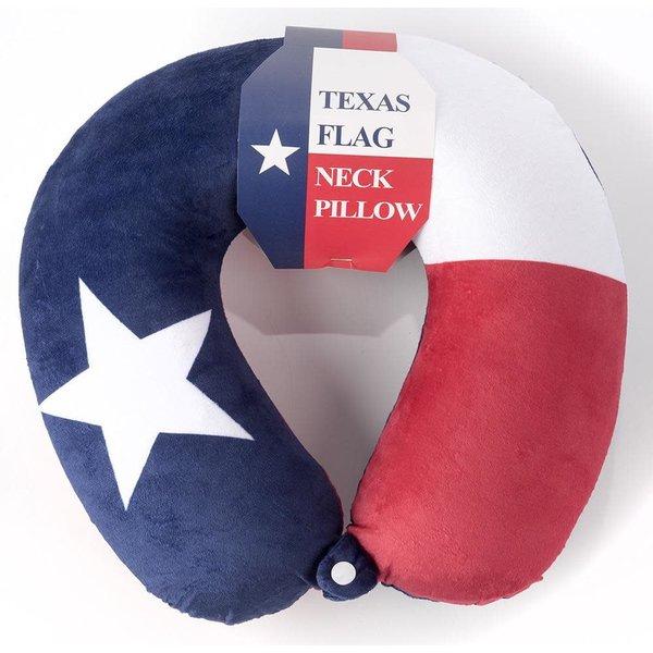 Austin & Texas Texas Flag Neck Pillow