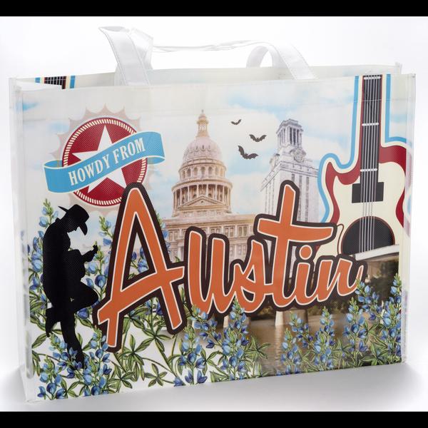 Austin & Texas Austin Vintage Tote Bag