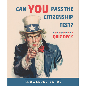 Americana Can You Pass The Citizenship Test? Quiz Deck Knowledge Cards