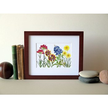 Austin & Texas Texas Wildflowers 8x10 horizontal