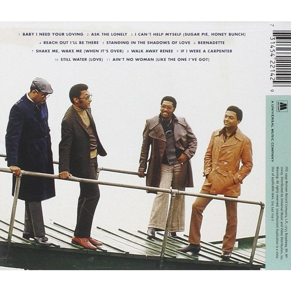 Sale sale-Four Tops 20th Century Masters CD