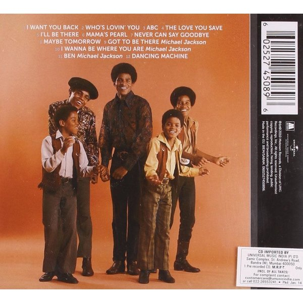 Sale sale-Jackson 5 ICON CD