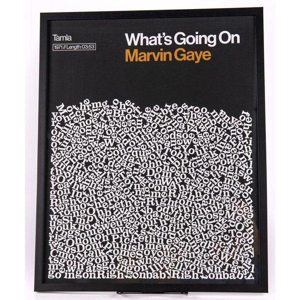 Sale sale-What's Going On 16X20 lyrics poster
