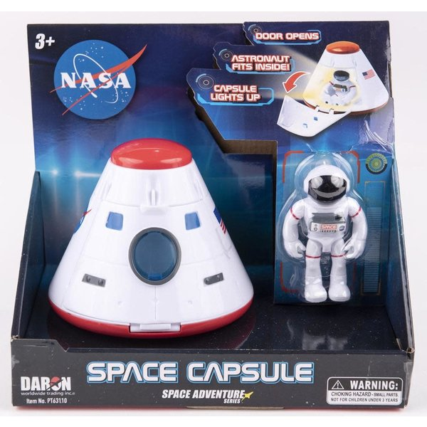 Just for Kids Space Capsule w/Figure