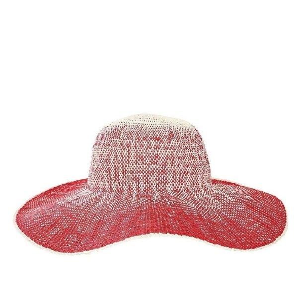 "Sale sale-5"" Brim Red Hat"