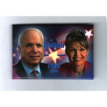 McCain Palin 08 Flag Stars 2X4