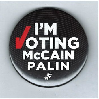 "I'm Voting McCain Palin 2.25"""