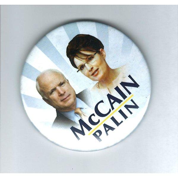 "McCain Palin Jugate Stripes 3"""