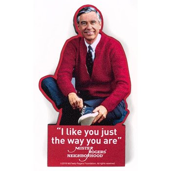 Just for Kids Mister Rogers I Like You Magnet