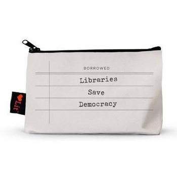Just for Kids Libraries Save Democracy Pencil Case