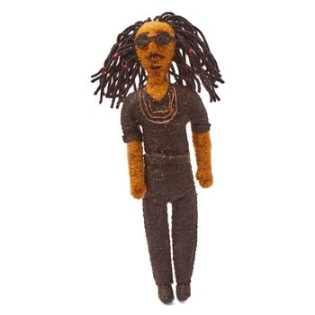 Sale sale-Stevie Wonder Felt Ornament
