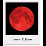 Sale sale LE Lunar Eclipse Moon Necklace