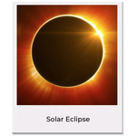 Sale sale SE Solar Eclipse Moon Necklace
