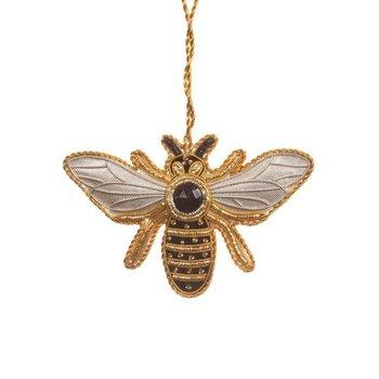 Lady Bird Johnson Bee Satin Ornament
