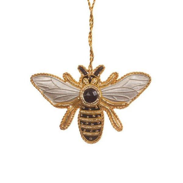 Lady Bird Bee Satin Ornament