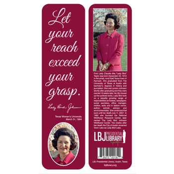 Lady Bird Let Your Reach Bookmark