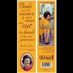 Lady Bird Johnson Books are the Scissors Bookmark