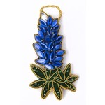 Lady Bird Johnson Bluebonnet Jeweled Ornament
