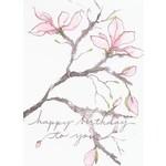 Lady Bird Johnson Magnolia Birthday Card