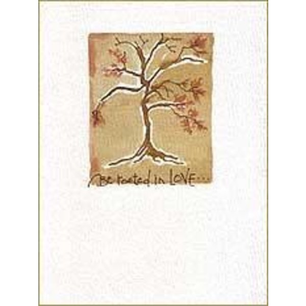 Lady Bird Johnson Be Rooted Sympathy Card