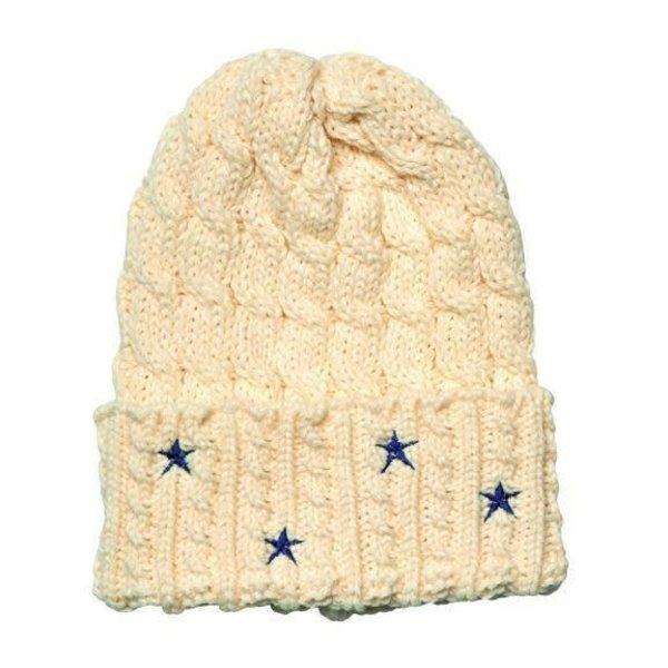 Sale sale-Cable Knit Beanie w/Star
