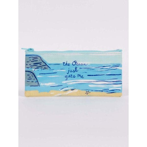 Lady Bird Johnson The Ocean Pencil Case