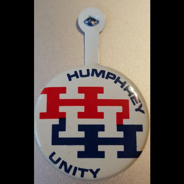 1968 Humphrey HHH Unity Campaign Tab