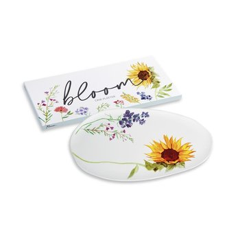 Lady Bird Bloom Platter 18x9 boxed