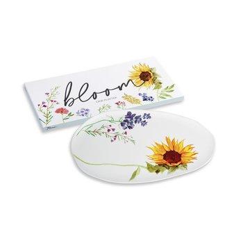 Lady Bird Johnson Bloom Platter 18x9 boxed