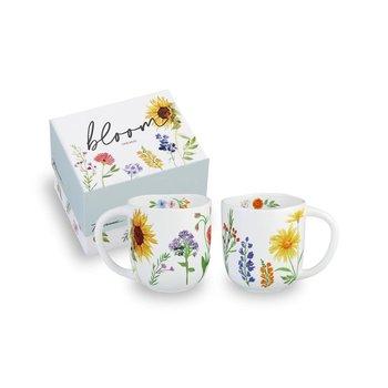 Lady Bird Johnson Bloom Mug boxed