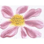 Lady Bird Johnson Celebrating W/You-Congrats  Greeted Card
