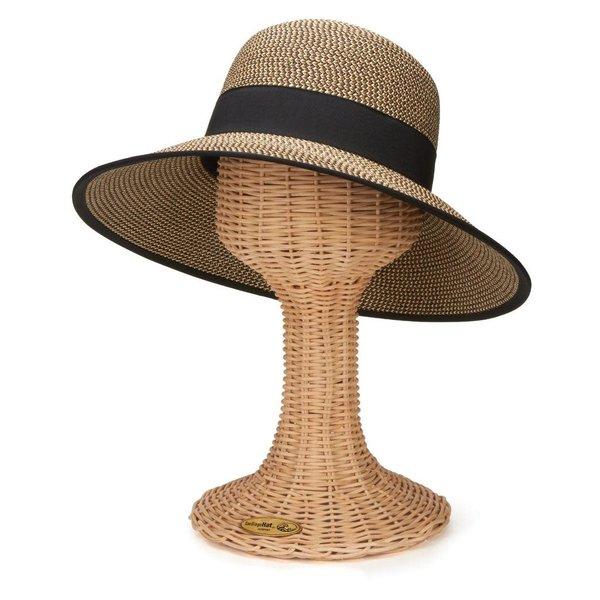 Sale sale-Mixed Black Sun Brim hat
