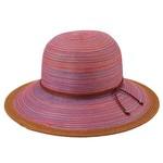 Sale sale-Mixed Brim Rust Hat