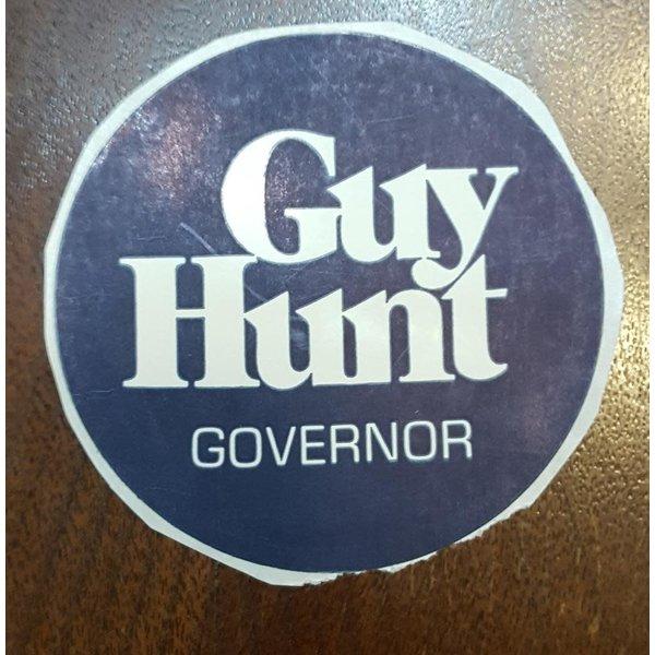 Governor Guy Hunt Sticker