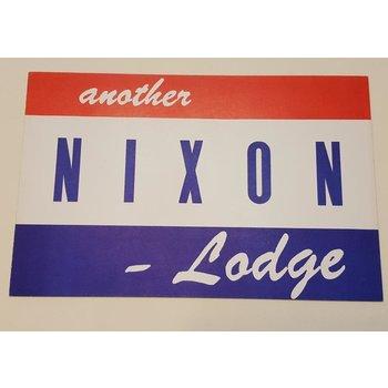 Nixon Lodge Sign