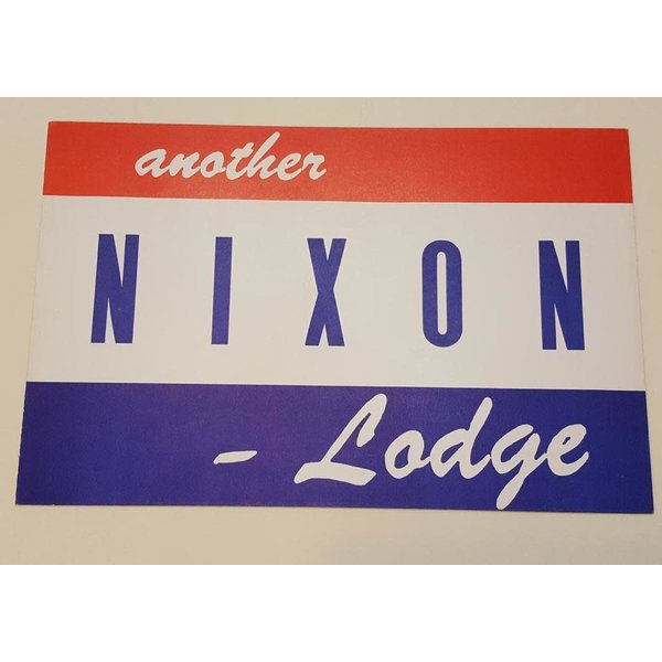 Nixon Lodge Sign