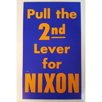 Richard Nixon Campaign Sign