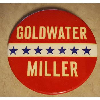 Goldwater Miller Campaign Button